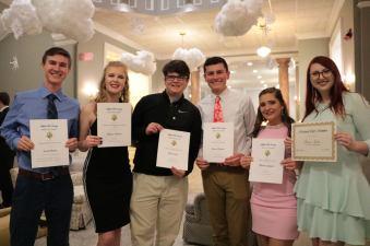 Fall 2018 Formal Award Recipients